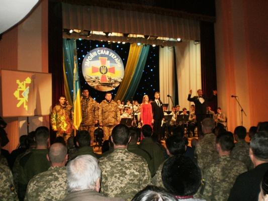 УФранківську вшанували загиблих військовослужбовців Збройних Сил України