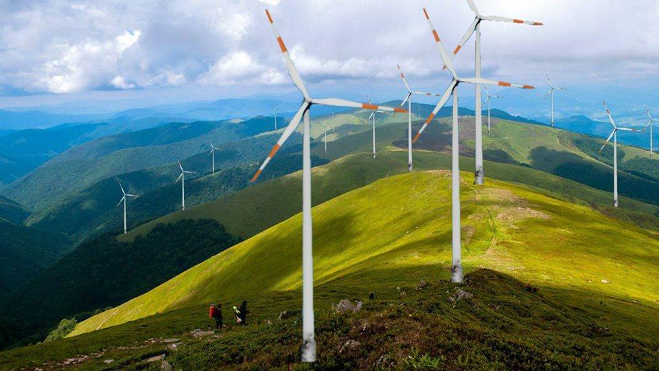 Плани будівництво вітрової електростанції у Карпатах спричинили хвилю обурення