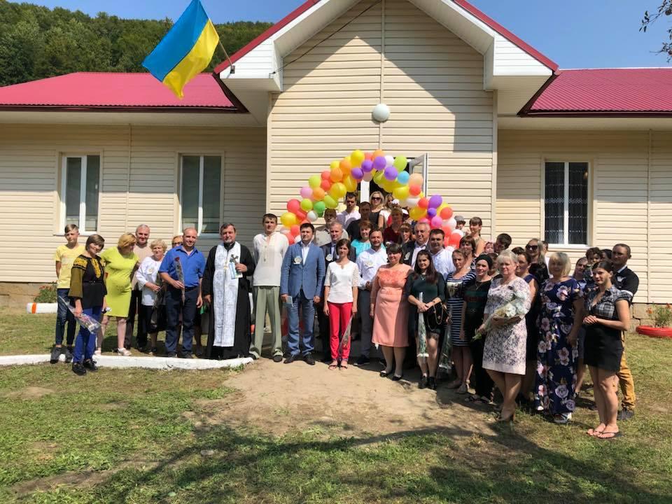 На Косівщині відкрили новий дитячий садочок (фоторепортаж)