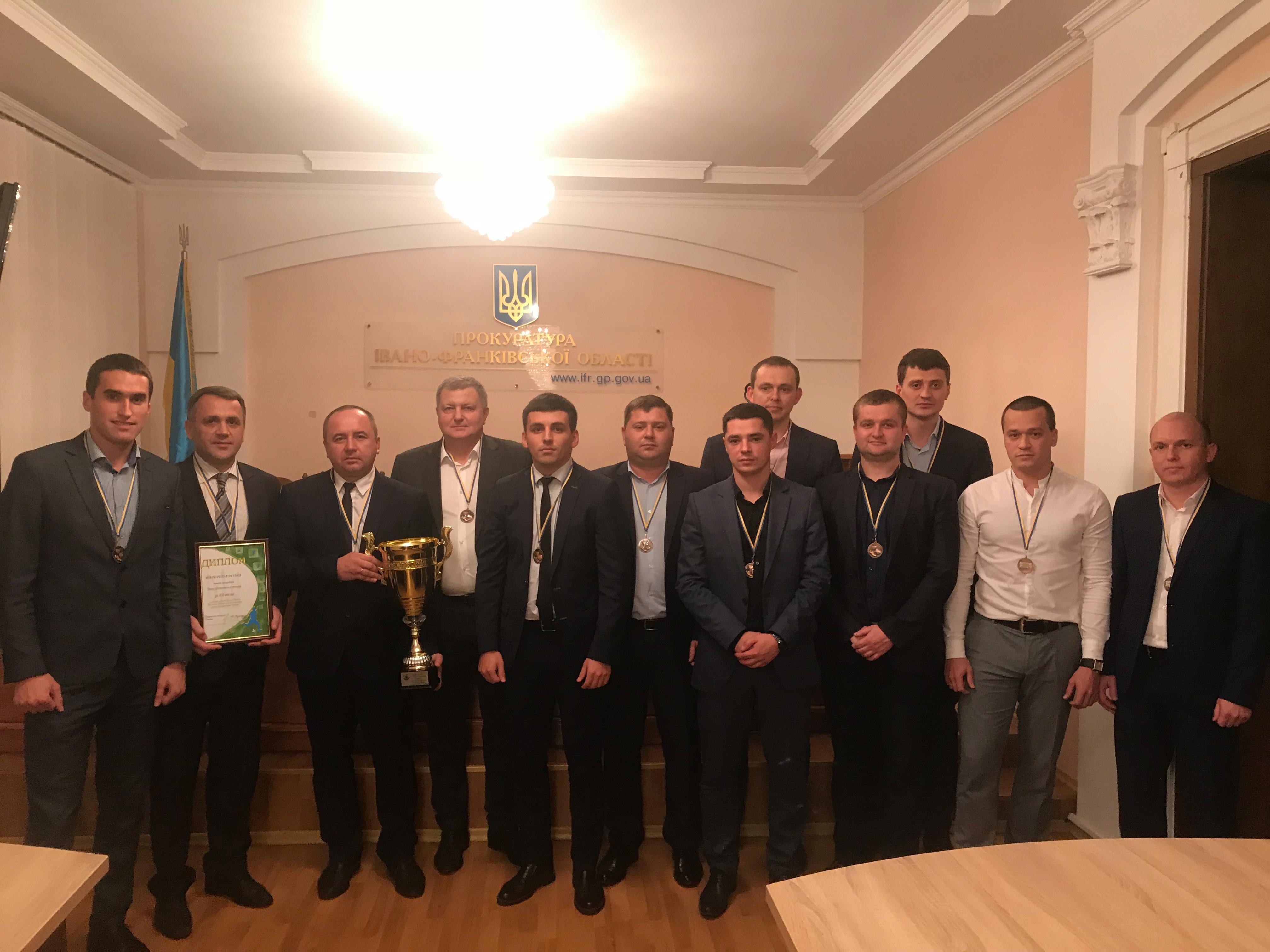 Команда прокуратури Івано-Франківської області здобула 3 місце у футбольному турнірі (фоторепортаж)