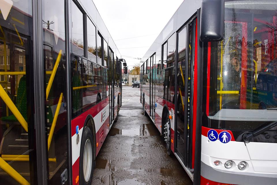 Івано-Франківськ: маршрутом № 41К «м-н Каскад – Онкодиспансер» будуть курсувати нові великогабаритні автобуси