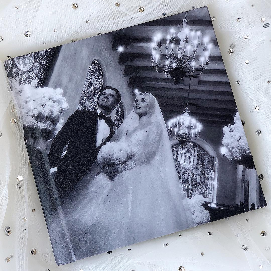Зіркова прикарпатка Міка Ньютон показала нові фото зі свого розкішного весілля (фоторепортаж)